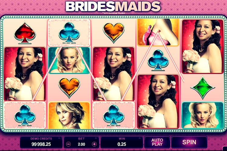Bradesmaids Slot Machine